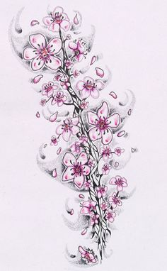 1000 Images About Cherry Blossom Tattoos On Pinterest