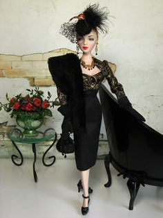 The Couture Touch--blog of someone who creates OOAK stuff for Gene dolls etc gene doll, barbi doll, fashion doll, coutur touch, gene marshal