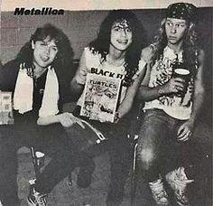 ~METALLICA/ONE OF FIRST PHOTO SHOOTZ~