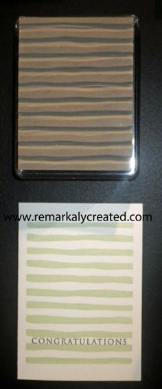 The new undefined Carve your own rubber stamp line from Stampin' Up! - Oh the Possibilities.