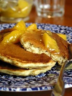 Recipe - Golden Oat Pancakes