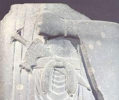 FRAGMENTO DE DARIO,HALLADO EN SUSA,KHUZISTAN  MUSEO NACIONAL DE IRAN