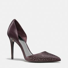 The Holmes Heel from Coach...this color is killing it this fall