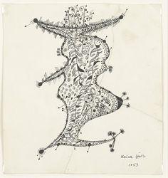 Unica Zürn, Untitled (1953)