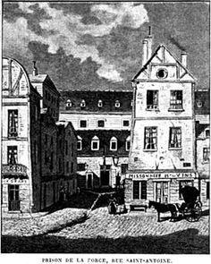 la prison de La Force est un hôtel particulier de la rue Saint-Antoine qui fut transformé en maison de détention et servit de prison pour la ville de Paris entre 1780 et 1845.