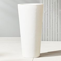 shore tall polyterrazo planter | CB2