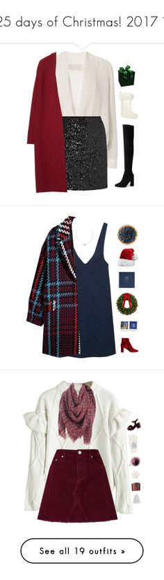 """""""25 days of Christmas! 2017 🎄"""" by genesis129 ❤ liked on Polyvore featuring Michelle Mason, Miss Selfridge, Lafayette 148 New York, Serena & Lily, Christmas, ChristmasSeries, 25daystillchristmas, MANGO, Yves Saint Laurent and Minnie Grace"""
