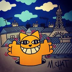 #picoftheday #like4follow #likeforlike #like4like #liking #mrchat #cat #graffiti #graffitiart #cute #orange #orangeisthenewblack