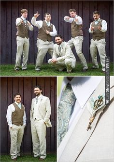 groom in linen suit | CHECK OUT MORE IDEAS AT WEDDINGPINS.NET | #bridesmaids