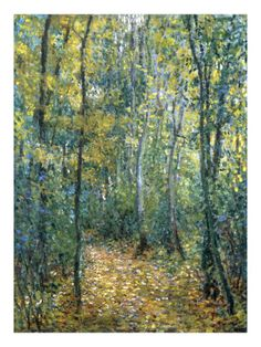 "Monet: ""Sous-Bois""