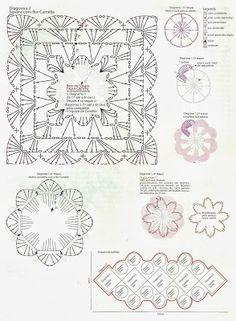 THE crochets OF ELSA: Table path