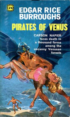Pirates of Venus - Edgar Rice Burroughs