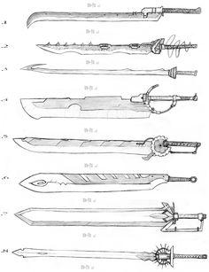 Sword Designs 2 by Iron-Fox.deviantart.com on @deviantART