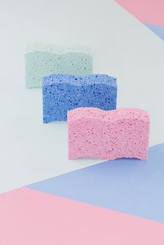color | sponges