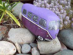 Purple VW Volkswagen Bus