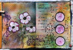 Rosie's Bastelwelt: Art Journal
