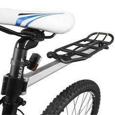 Adjustable Bike Rear Cargo Rack Touring Bag Panniers Carrier Seatpost Mount EMTR