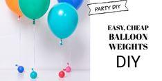 DIY Pinata in 30 minutes - Homemade Pinata Tutorial - Pretty Little Party Shop Cheap Helium Balloons, Bargain Balloons, Giant Balloons, Balloon Backdrop, Balloon Columns, Party Shop, Diy Party, Party Ideas, Party Fun