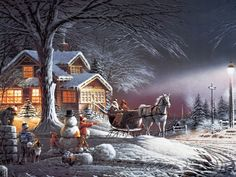 WINTER WONDERLAND - Terry Redlin