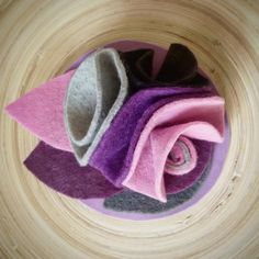 Handmade felt brooch Designed by:Samaneh