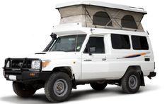 Toyota Landcruiser Pop Top
