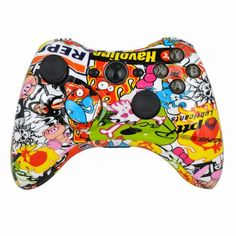 MODFREAKZ™ Shell/#button  Kit Hydro Dipped #collection  #graffiti  (NOT A CONTROLLER, For Xbox 360 Controllers) #great #xbox360 #loveit