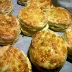 """Super delicious buttermilk biscuits! 5.00 stars, 1 reviews. """"I love that recipe! bc its fast and chip ! soft and tender inside and  crispy and golden outside! Enjoy and let me know! :-P"""" @allthecooks #recipe #biscuits #bread"""