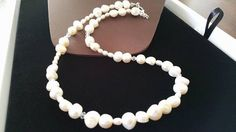 SALE  Pearl Necklace for Bridesmaid  White by weddingbellsdesigns