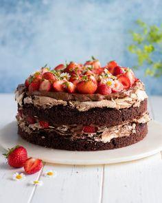 Cake Recipes, Dessert Recipes, Desserts, Kitchen Stories, Fika, Cake Cookies, Nom Nom, Cheesecake, Food Porn