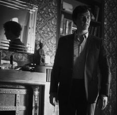 """Mycroft: """"If any of us move, the grenade will detonate.""""  .. """"The Final Problem"""" .. 