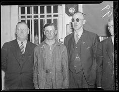 """Fiend"" murderer James Folsom who killed two little girls in  Waterville Maine Creator/Contributor: Jones, Leslie, 1886-1967 (photographer) Date created: 1936-05-09"