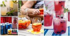 15 Big batch drinks for Sumner parties   Try out some of these delish recipes at your next summer party!
