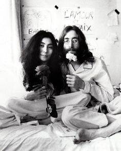 John & Yoko by Ivor Sharp