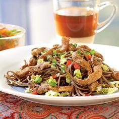 Vietnamese - Cold Soba Noodles with Vietnamese Pork