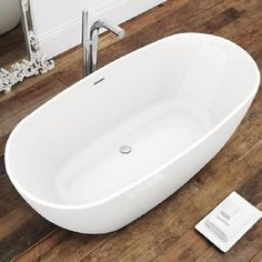 A great addition to any contemporary bathroom the Freestanding Bath has a bold, modern design. This spacious bath is available in a number of sizes,.