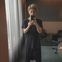 one ok rock taka blond hair -