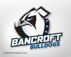 Bancroft Bulldogs logo  via logopond.com
