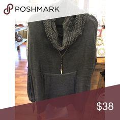 Comfy Weekend Poncho Comfy Weekend Poncho! Also available in cream & light grey. Tops Sweatshirts & Hoodies