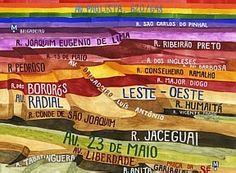 A topografia de Carla Caffé - Divulgação