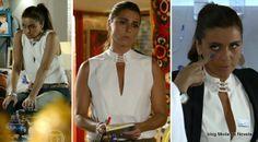Looks do dia 31 de março na novela Em Família