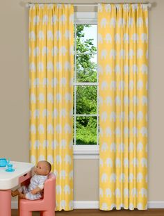 Buffalo Checkered Curtains In Yellow Or Red Classic Bed Breakfast