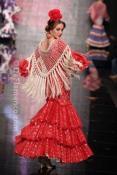 Crochet Collar, Crochet Blouse, Crochet Shawl, Free Crochet, Flamenco Costume, Spanish Dress, Spanish Fashion, Special Dresses, Crochet Accessories
