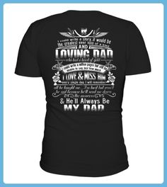 Top Hell Always Be My Dad and Angel back Shirt (*Partner Link)