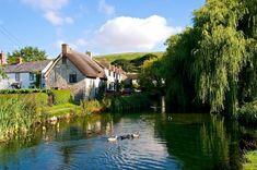 Love Dorset » Village Duck Pond at Sutton Poyntz christenings happen here how lovely.