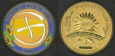 Kansas Geocoin