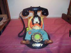 "Vintage Walt Disney ""Goofy"" animated Telephone landline mickey mouse no reserve"