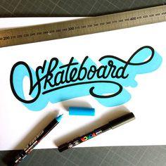 Skateboard. By @tarwane.