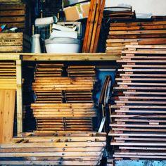 At the workshop making more oak tables Wooden Chairs, Wedding Tables, Handmade Wedding, Vintage Furniture, Bespoke, Workshop, Events, London, Rustic