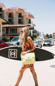Surf style with Chanel