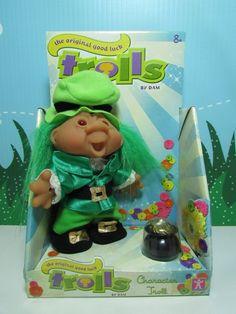 """LEPRECHAUN - 5"""" DAM Troll Doll - NEW IN PACKAGE - Europe Edition #Dam #TrollDoll"""